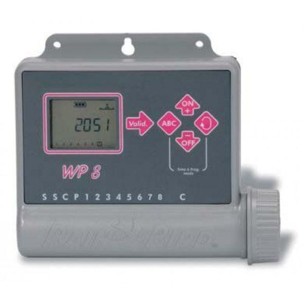 Контроллер Rain Bird WP-8, 8 зон, 9V, внешний
