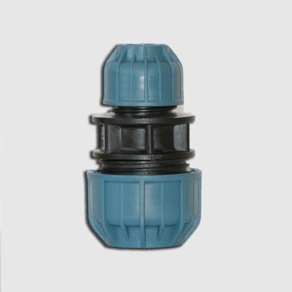 Редукционная муфта для труб из ПНД JASON 63 х 50 PN 16